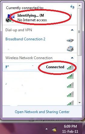 Wifi Issue Connected But Still No Internet Access
