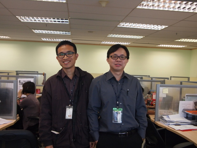 Mr Lim Sin Fui, my good friend in BCS Information Systems, who helped and supported me the most. He is a very dedicated employee, helpful and humble person. I believe he is one of the guardian angel God sent to help me with my job in BCSIS.