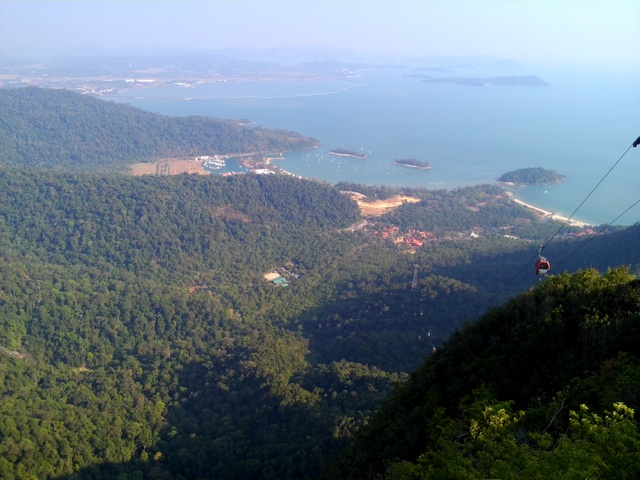 Langkawi Cable Car - RM15 (with MyCard). Worth to go especially if you have never been there.