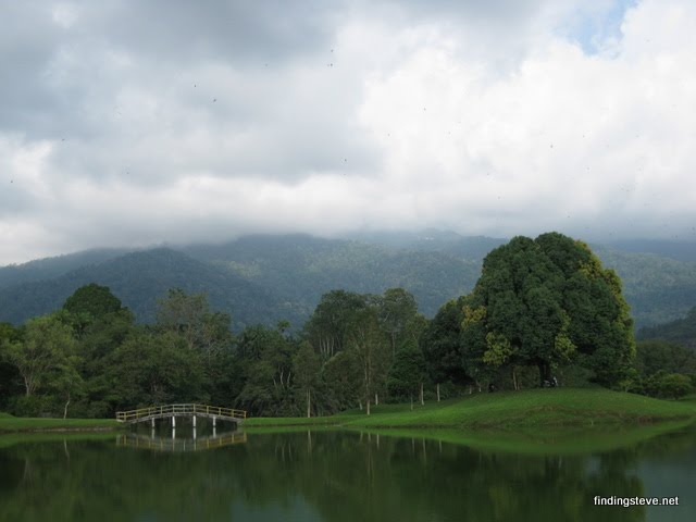Yes, this scene was taken from this Taiping Lake Garden, Malaysia :)