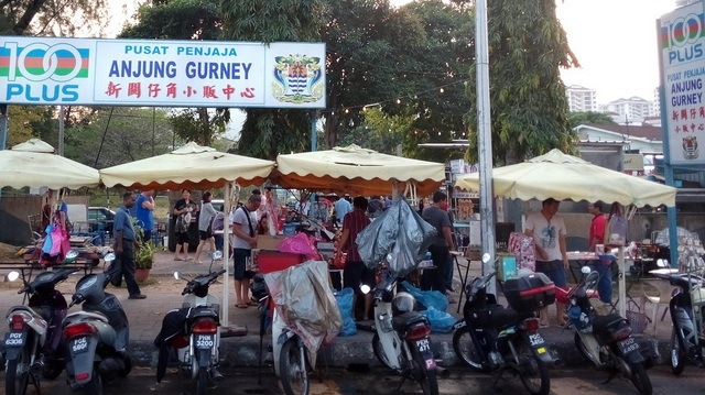 Gurney Drive (Anjung Gurney) - a famous spot for many hawker foods